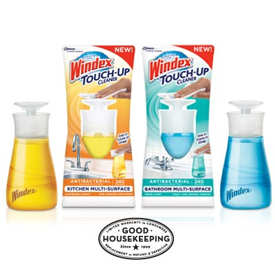 """Out to Share"" 2013 Packaging Trend in Action: New Windex Touch-Up Cleaner"