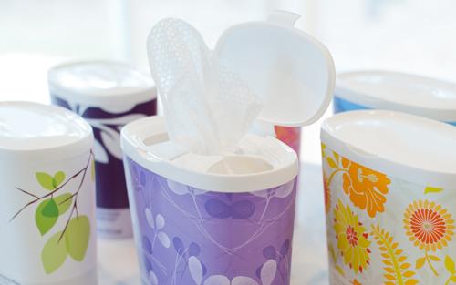 Cottonelle Flushable Wipes Dispenser Perimeter Brand